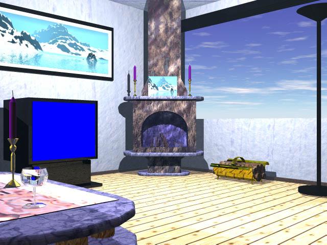 digital dream machine | 3d portfolio virtual sets